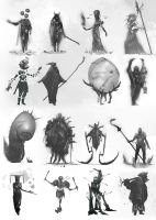 Charadesign thumbnails by Eaworks