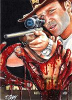 Shay Walking Dead 2 Final Artist Proof 2 by Dr-Horrible