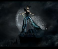 :: Low Moon :: by christel-b