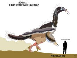 PA: THERIZINOSAURUS (updated 2017) by HUBLERDON