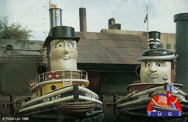 TUGS - Top Hat and Zebedee - 1989 by TTTEEpisodesUS