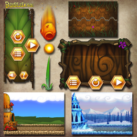 Bumbledore UI and Environments by DevindraLeonis