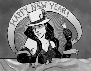 Happy New Year - 1911 by CassieForgen
