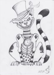 Crazy Cheshire Cat by Tiamat1806