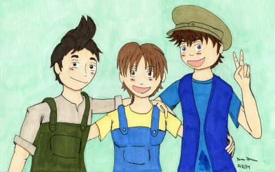 The Three Wrenchketeers by 1863project