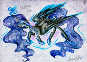 Nightmare Moon by xChrysalisSsx