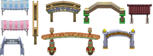 HGSs Tiles_Arches by ThunderDove