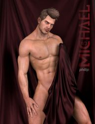 Michael 5 by HellboySoto
