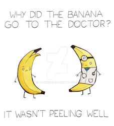 Why did the banana go to the doctor? by arseniic