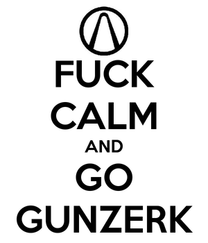 Borderlands 2 'Keep Calm' poster by Eclispsis9108