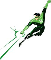 Justice League -GL Kyle Rayner by imapuniverse