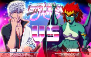 CCC Jams - Gintoki vs Demona by Manu-G