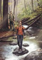 The last of us - concept art by DanielKarlsson