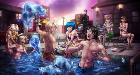 Pool Party by Del-Borovic