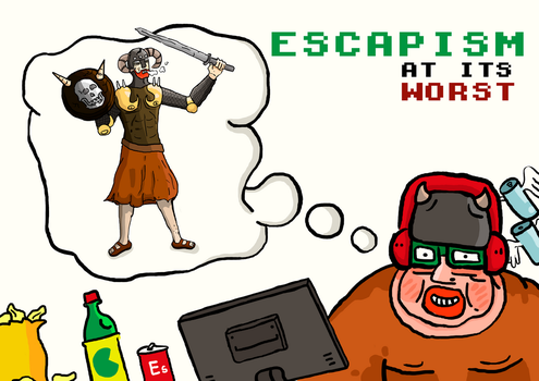 Escapism at its worst by Parasiitti