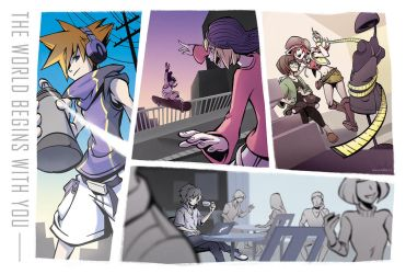TWEWY - World Begins With You by taleism