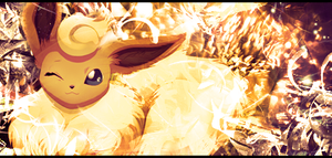 Flareon Signature by Chalkali