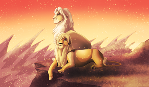 Before the sandstorm by Phoenix-Brul-Plum