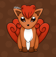 Day 77: Vulpix by NoxYukianesa