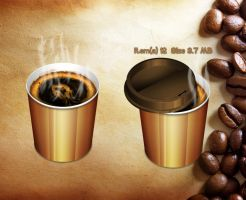Hot Coffee RecycleBin for xwidget by Jimking