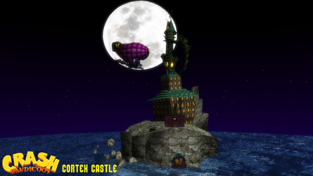 (MMD Stage) Cortex Castle Download by SAB64