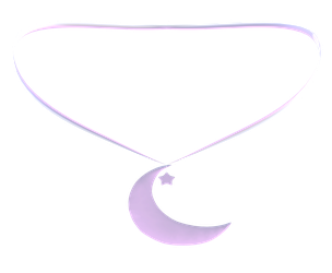 [MMD] Moon Necklace (DL) by kiraAnima