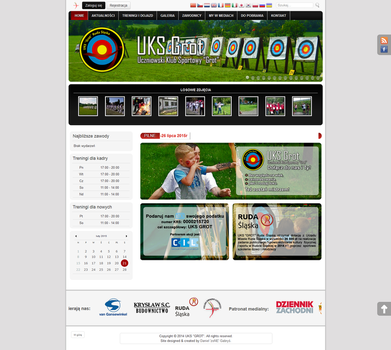 Web Layouts: UKS GROT - 2015.02.21 by zoNEDev