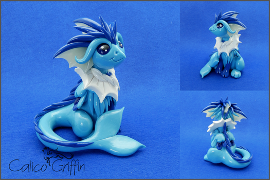 Vaporiffin - Pokegriff - polymer clay by CalicoGriffin