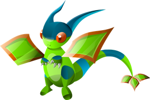 Chromatic flygon by lokyel