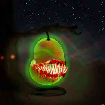 Jelly Pear by pasadonut