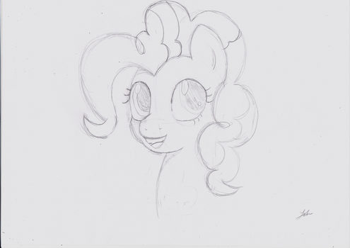 Day 348 - 15th of January 2016 - Pinkie Pie by NoxDrachen