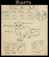 Pugen Species Guide by White-Bone