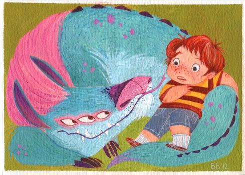 Monster Buddy by betsybauer