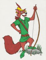 Robin Hood by zombiegoon