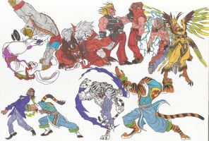 Bloody Roar_Doodles07_June2012 by AlexBaxtheDarkSide