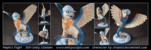 Commission : Maple's Flight by emilySculpts