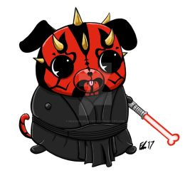Pug-Maul Commission by Requiem-Delacroix