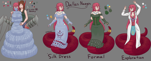 Dallas - Character Design Sheet [Commission] by Ankhrono