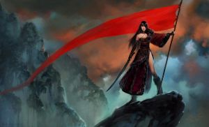 Red Banner by ConceptArtOrg