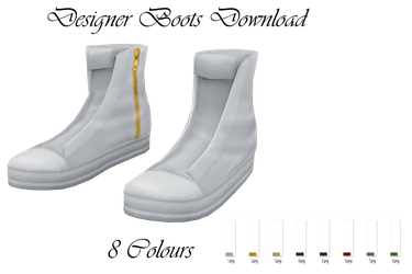 Designer Boots Download by LunaSukii