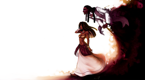Gisele and Legba by BloodnSpice