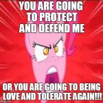 Insanity Pinkie Pie:Protect And Defend by AudiomachineForLife