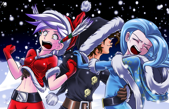 sinful christmas by mauroz