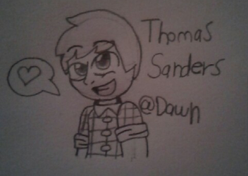 Thomas Sanders by Dying-At-Dawn