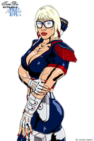 Girls With Glasses 05 - Red white n Blue special by ToniBo-AngelsInc