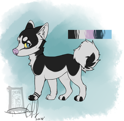 Husky Pup by GingerMaiden
