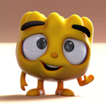 Zbrush Doodle: Day 1277 - Pan Squash waves hi by UnexpectedToy