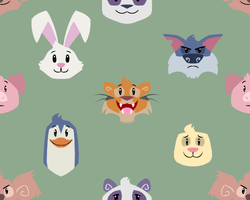Animal Jam contest thingy by ProfessorAurabolt