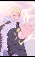 Fairy Tail 357 - Laxus by kvequiso