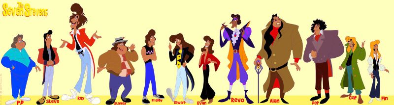 ''The Seven Stevens'' Main Cast by Kosperry